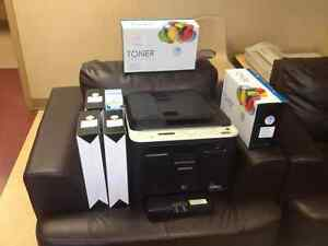 Samsung CLX-3185FW Colour Laser Printer +3 Multi-Ftion Printers