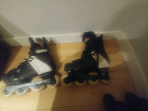Ccm to ultra wheels roller blades used
