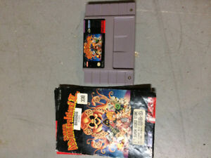 Super adventure island 2 for snes with manual