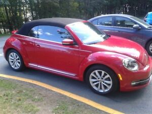 REDUCED: 2012 Volkswagen Beetle High Line Convertible