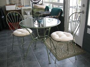 Iron Table and Chairs Set
