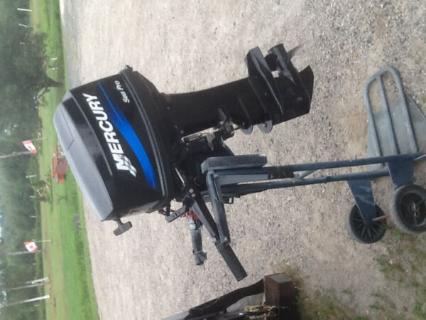 Used 2009 Mercury 25 MERCURY SEA PRO, LONG SHAFT TILLER