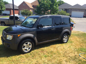 2003 Honda Element  -  2nd owner, FWD, Auto, two sets of rims.