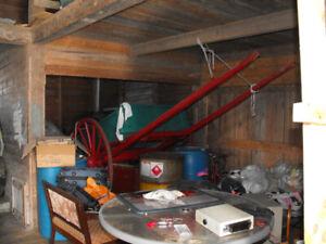 Antique Horse Cart