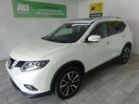 WHITE NISSAN X-TRAIL 1.6 DCI TEKNA ***FROM £74 PER WEEK***