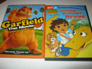 Garfield and Diego DVD