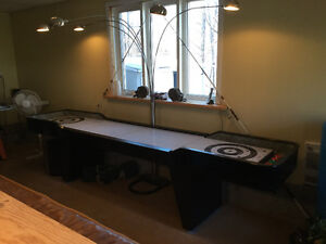 Shuffleboard & Foosball table