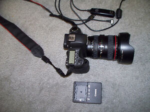 Canon EOS 6D digital CAMERA with lens Stratford Kitchener Area image 3