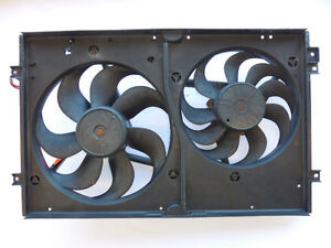 Volkswagen Golf 1999-2012 Auxiliary Dual Fan Assembly 1J0121207J