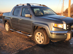 2007 Honda Ridgeline EX-L with Navigation