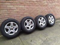 VW Touareg alloy wheels