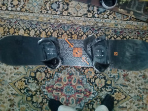 Scan rs rossie snowboard with bindings