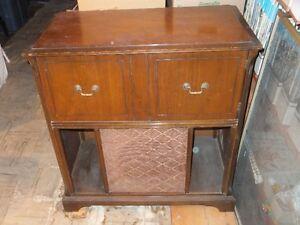 Stromberg Carlson Radio/Phono Wood Cabinet - 1950