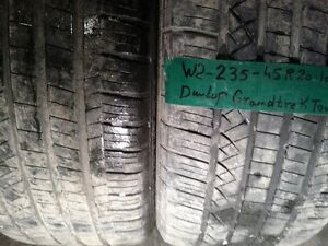 AVAILABLE 20 INCH TIRES