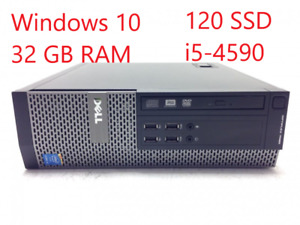 i5-4590, 32 GB RAM, SSD, Windows 10 Pro: Dell Optiplex 7020