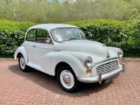 1966 Morris MINOR 1000 1.0 Old English White Tax Exempt Petrol Manual