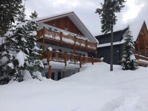 Castle Mountain House Ski in Ski Out