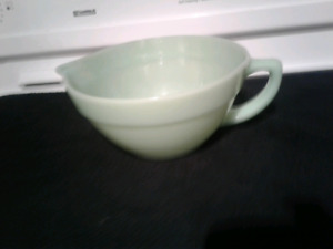 Jadeite Fire King bowl