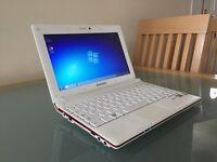 "Samsung Netbook 10"" Windows 7 Intel Dual Core 250GB HD"