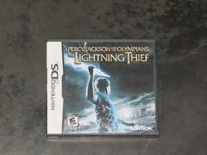 Nintendo DS Percy Jackson and the Olympians Lightning Thief Game