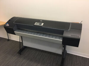 HP Designjet Z3200ps Plotter with Ink Cartridges and Printheads