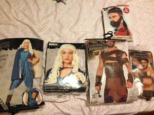 Game of Thrones Couples Costume- Khaleesi (Daenerys) and Drogo