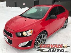 Chevrolet Sonic RS Turbo Cuir Toit Ouvrant MAGS 2015