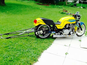 Racing drag bike