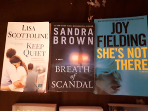Best-selling mysteries and thrillers