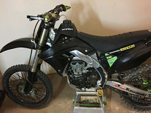 2009 kx 450 f great shape alot of money was invested