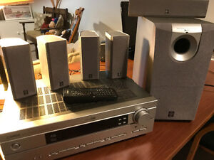 Yamaha Home Cinema system model HTR-5630- 7 pieces