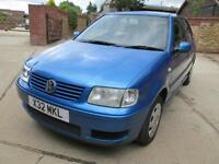 Volkswagen Polo 1.4 75bhp S Only 2 Previous Keepers From New Low Miles