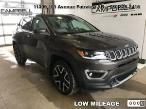 2018 Jeep Compass Limited 4x4  - Leather Seats