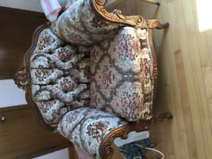 Chair and couch for sale