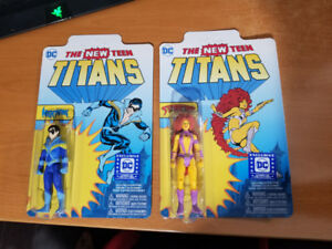 The New Teen Titans Reaction Figures Night Wing & Star Fire