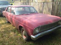 1966 Ford Falcon Sedan. It's gotta go TODAY. 1500 o.b.o