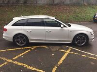 + 14 REG AUDI A4 AVANT AUTO 25 K FSH £17490 REDUCED FOR QUICK SALE NO OFFERS +