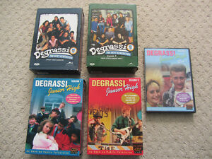Degrassi Junior High & The Next Generation on DVD - Some Sealed