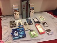 Electrical Bundle, phone cases, head phones, selfie sticks