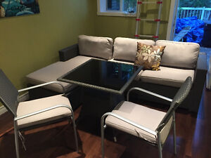 Patio Set - Trevi Balnero Collection in mint condition!