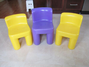 little tikes plastic chairs