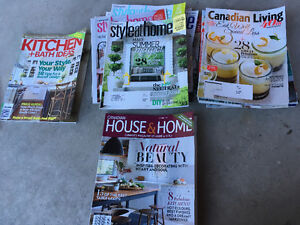 Several Home Magazines
