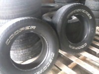 Two Cooper Discover 265 70 18 All season tires