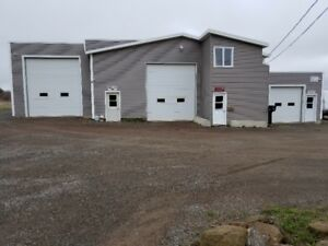 shop/garage/storage for rent. Must see! Many options available