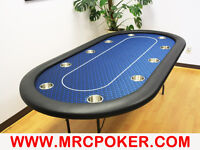 """10 PLAYER 84"""" POKER TABLES"""