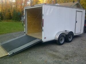 Enclosed Cargo Trailer  7' x 14'