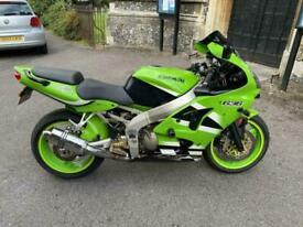 2002 (02) Kawasaki ZX636-A1P Ninja - Green - 19528 miles