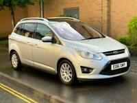 FINANCE AVAILABLE!! 61 REG FORD GRAND C-MAX 2.0TDCi TITANIUM 5dr 6 SPEED 7 SEATS