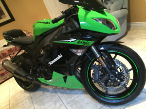 !!! Reduced to sell !!! 2010 Kawasaki zx6r
