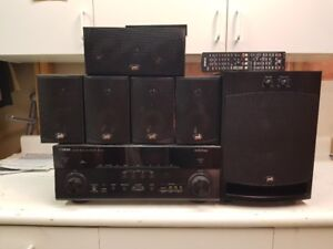 Yamaha AV Receiver with 5.1 speaker system